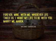 Top 91 I Want To Marry You Quotes: Famous Quotes & Sayings