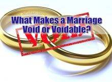 What Are Void & Voidable Marriages On Long Island?